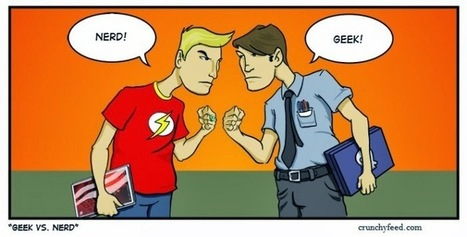Difference between Geeks and Nerds | CrunchyFeed | Technology | Scoop.it
