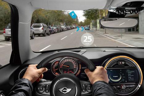 Des lunettes d'aviateur ? Non, la vision augmentée selon Mini | Domotique,objets connectés, imprimantes 3D | Scoop.it