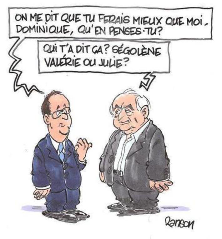 DSK pourrait faire mieux que Hollande | Baie d'humour | Scoop.it