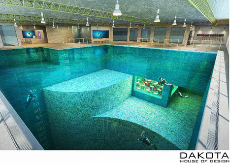 World's largest water tank dedicated to diving to be built at adventure centre - Bedford Today | DiverSync | Scoop.it