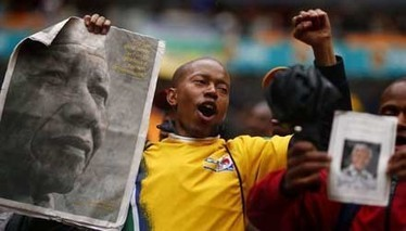 Mandela: Creation of a cult | Look Left | Scoop.it