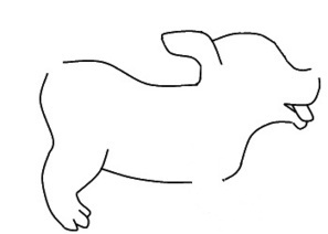 How to draw a dog | easy to draw animals | Scoop.it