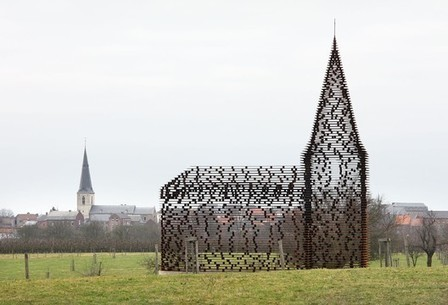 [Looz, Limburg, Belgium] Reading Between the Lines / Gijs Van Vaerenbergh | ArchDaily | The Architecture of the City | Scoop.it