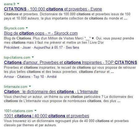 Test Google : URL au-dessus du titre | Actu webmarketing et marketing mobile | Scoop.it