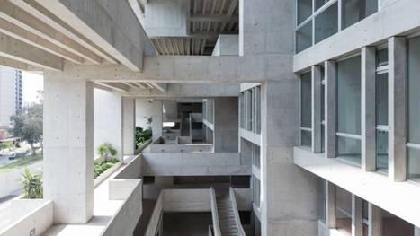 """Le bâtiment d'une université de Lima nommé """"construction de l'année"""" par un jury d'architectes britanniques   On en parle...   Bibliothèque de l'INSA de Strasbourg   Scoop.it"""