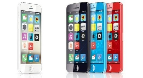 iPhone Mini Concept Running iOS 7 Surfaces - Design Looks Impressive | iPhone 5S Release Date | Scoop.it