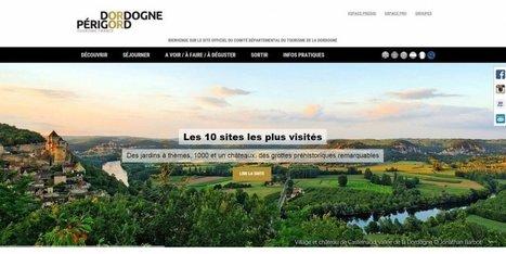 Le site Internet du comité du tourisme de Dordogne adopte un nouveau look | Actu Réseau MOPA | Scoop.it