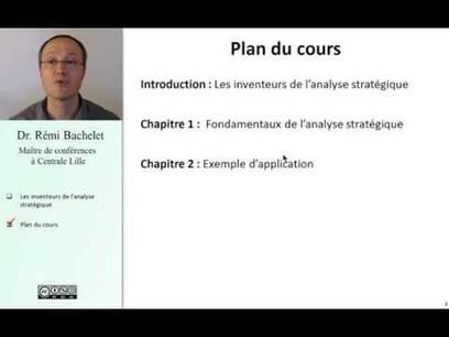 Cours d'analyse stratégique | Ressources d'autoformation dans tous les domaines du savoir  : veille AddnB | Scoop.it