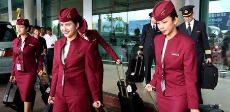 Les hôtesses de Qatar Airways peuvent se marier et avoir un enfant sans être licenciées | egalité femmes hommes | Scoop.it