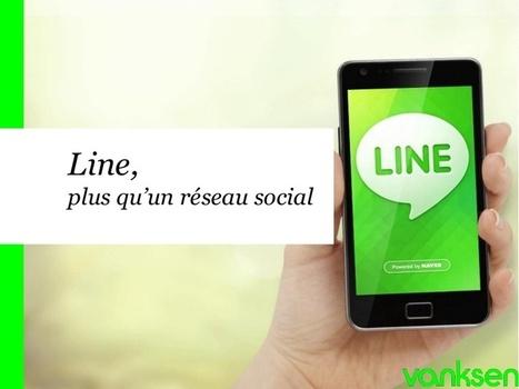 Line, plus qu'un réseau social | Réseaux Sociau... | line réseaux social | Scoop.it