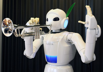 Rise of the Machines: When Robots Play Music | Serendipitous Delight | Scoop.it