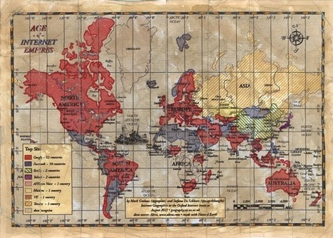 Age of Internet Empires: One Map With Each Country's Favorite Website | New Media & Society | Scoop.it