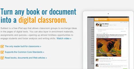 Subtext - | Tech & Education | Scoop.it