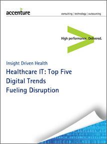 Healthcare IT: Top Five Digital Trends Fueling Disruption in Healthcare - Accenture | Health Care Business | Scoop.it