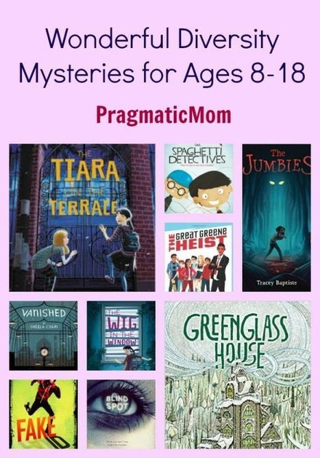 Wonderful Diversity Mysteries for Ages 8-18 | Diverse Books and Media | Scoop.it