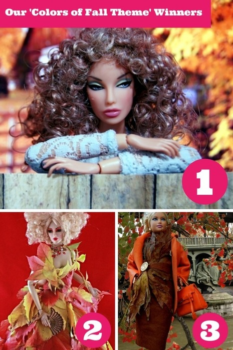 Announcing Our 'October Theme: Colors of Fall' Photo Contest Winners | Fashion Dolls | Scoop.it