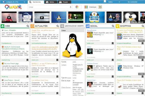 Qwant: Un nouveau moteur de recherche 100% Français | Au fil du Web | Scoop.it
