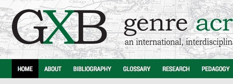Genre Across Borders (GXB) - an international, interdisciplinary network of researchers, theories, and resources | The EAP Practitioner | Scoop.it