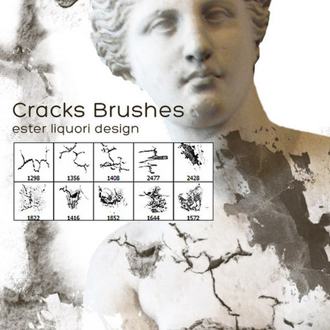 Free Download: Cracks Brush Set | PSDFan | xposing world of Photography & Design | Scoop.it