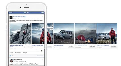 Facebook : maîtrisez les carrousels pour vos publicités | Linkingbrand: Social Media | Scoop.it