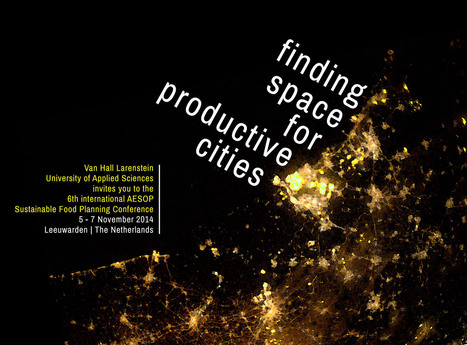 Aesop 6 | Finding Space For Productive Cities | Food related production. | Scoop.it