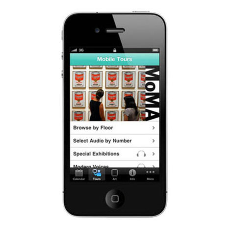 MoMA App | Riding The Tablet Wave | Scoop.it