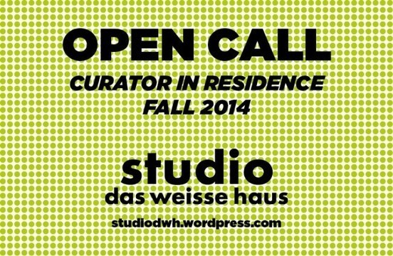 residency for an international curator in vienna - RU OPPORTUNITIES