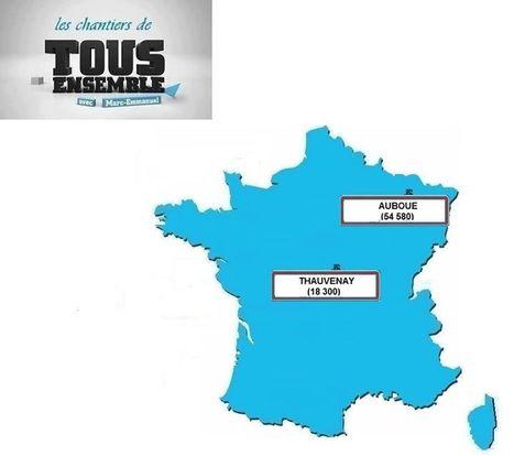 TOUS ENSEMBLE : chantier solidaire à Thauvenay (18300) => Cliquez pour + d'infos ! | Tout Ce Qui Se Passe Près De Chez Moi .fr | Scoop.it