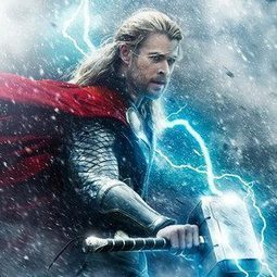 New Thor: The Dark World Poster: Chris Hemsworth Is Electric in Superhero ... - E! Online | Avengers | Scoop.it