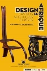 Nouvelle exposition du musée Dapper  : Design en Afrique | L'Etablisienne, un atelier pour créer, fabriquer, rénover, personnaliser... | Scoop.it