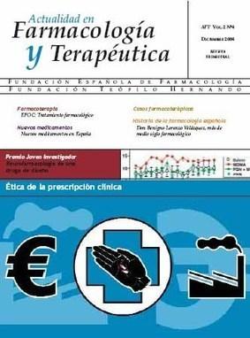 (ES) (PDF) - Actividades de Formación Farmacoterápica Continuada   Departamento de Farmacología y Terapéutica Universidad Autónoma de Madrid   Glossarissimo!   Scoop.it