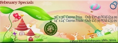 February Special on Canvas Prints | Canvas Prints | Scoop.it