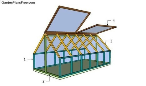 Small Greenhouse Plans | Free Garden Plans - How to build garden projects | Backyard Plans | Scoop.it