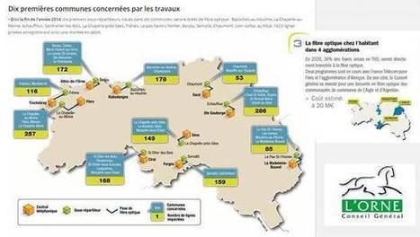Plan Numérique Ornais, une montée en débit pour 16 000 foyers ... - Ariase | UseNum - Normandie | Scoop.it