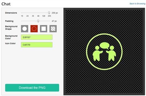 FlatIcons : Banque d'icônes gratuites et personnalisables | ICT tools, learning and teaching practises (outils TIC et pratiques pédagogiques) | Scoop.it