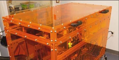 Une imprimante 3D qui utilise jusqu'à 10 matériaux pour un même objet   COMPOSITIC   Scoop.it