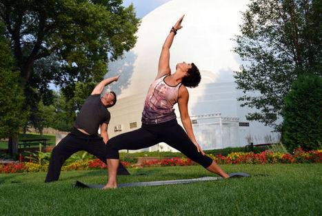 Yoga in the Park brings calm to Saturday's fun - Sioux City Journal | Yoga booty ballet | Scoop.it
