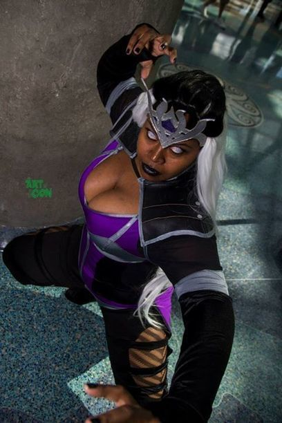 Cosplay France : Sindel (Mortal Kombat) par silhouettescosplay | Cosplay | Scoop.it