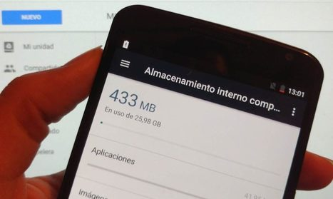 Cómo liberar espacio en el móvil gracias a Google | Pedalogica: educación y TIC | Scoop.it