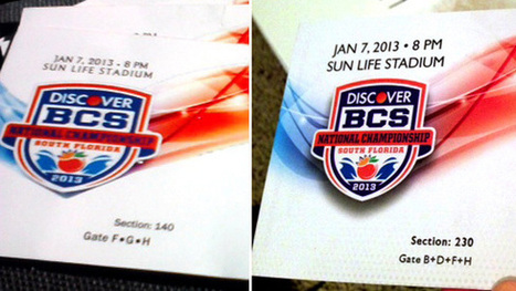 Bienvenido a Miami: Inside a fake BCS title game ticket scam | The Billy Pulpit | Scoop.it