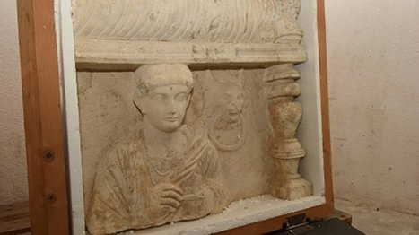 Swiss seize artefacts looted from Syria's Palmyra | History | Scoop.it