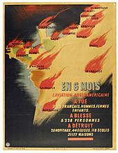 Bombardements aériens de 1943 : une affiche de propagande vichyste - [Ecomusée de Saint Nazaire] | Histoire 2 guerres | Scoop.it