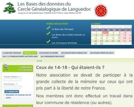 Explorer toutes les pistes avec la base transversale du Cercle de Languedoc - RFG Guillaume de Morant | Généalogie | Scoop.it
