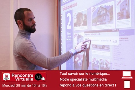 Rencontres Virtuelles FLE - Manuels numériques | Éditions Maison des Langues | ressources pédago FLE | Scoop.it