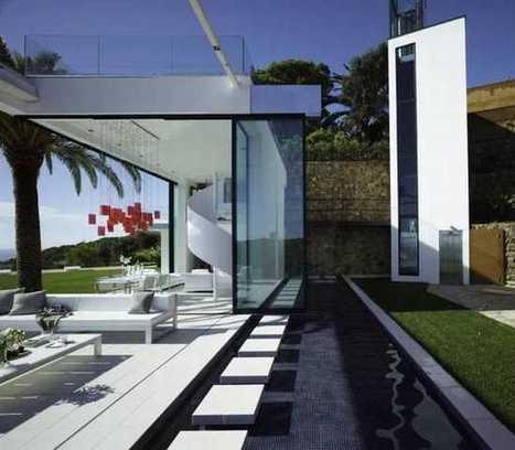 Villa di lusso in Spagna da 22 milioni di euro   Leather tiles Lapèlle design   Scoop.it