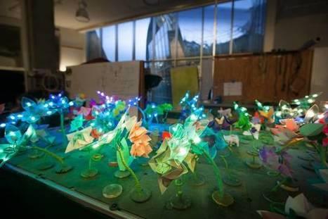 Deze schitterende tuin met robotbloemen leert kinderen programmeren • Numrush | 4pip | Scoop.it