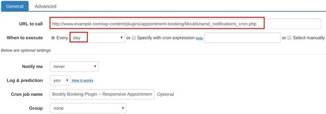 How to set up cron job for Bookly Booking Plugin – Responsive Appointment Booking and Scheduling | How to set cron jobs | Scoop.it