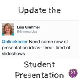 Alternatives to Student Presentations - Teacher Tech | E-learning | Scoop.it