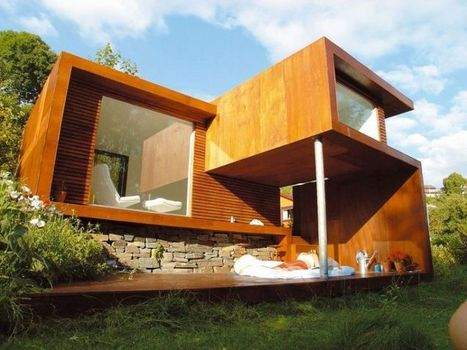 Casa Kolonihagen by architect Tommie Wilhelmsen - Modern Home and House Design - lakbermagazin | architecture..., Maisons bois & bioclimatiques | Scoop.it