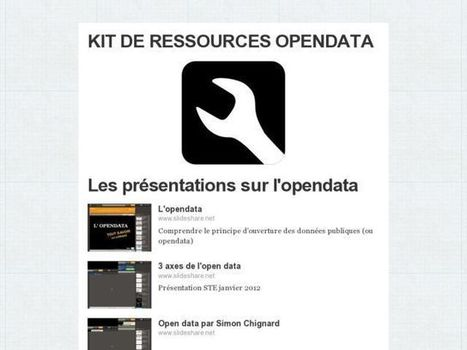 KIT DE RESSOURCES OPENDATA   OpenData   Scoop.it